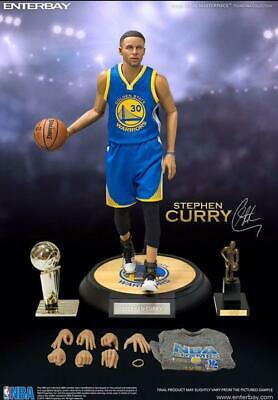 $2668 • Buy NBA Collection Real Masterpiece Collectible Stephen Curry Warriors 1/6 Figure
