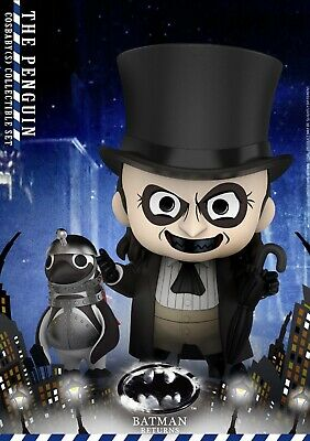 $ CDN121.46 • Buy The Penguin Collectible Set By Hot Toys Batman Returns Cosbaby Series