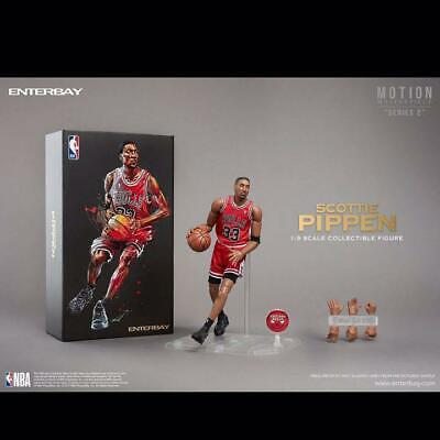 $2668 • Buy Enterbay NBA Bulls Scottie Pippen Michael Jordan 1/9 Scale Collectible Figure