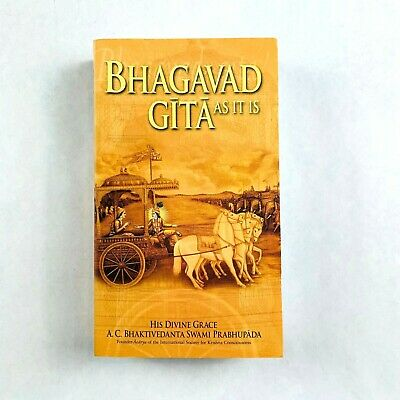 AU21.99 • Buy Bhagavad-Gita As It Is By A. C. Bhaktivedanta (Paperback)