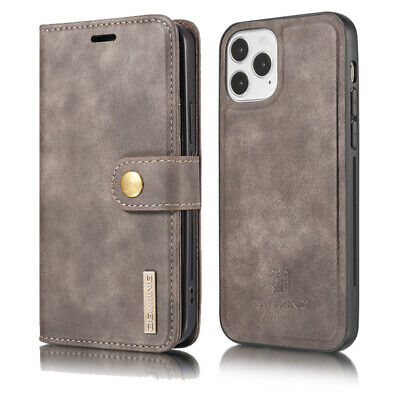 AU13.99 • Buy Double Use Flip Leather Wallet Case Cover For Sony XZ2 LG V30 G7 OnePlus 6 8 Pro