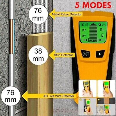 £13.69 • Buy Metal Wood StudsElectric Detector AC Voltage Live Wire Detect Wall Scanner UK