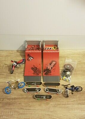 Bundle Of X Stuntz Skateboards Bikes Ramps & Spare Wheels Etc (Read Description) • 20£