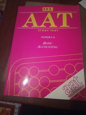 Aat Study Text Basic Accounting • 5£