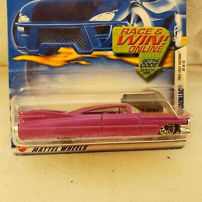 $7 • Buy Hot Wheels 2002 #032 First Editions #20 Of 42 Custom '59 1959 Cadillac WSPs T03