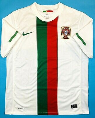 Nike PORTUGAL 2010/12 M Away Football Shirt Soccer Jersey FPF Camisa Top Kit • 44.99£