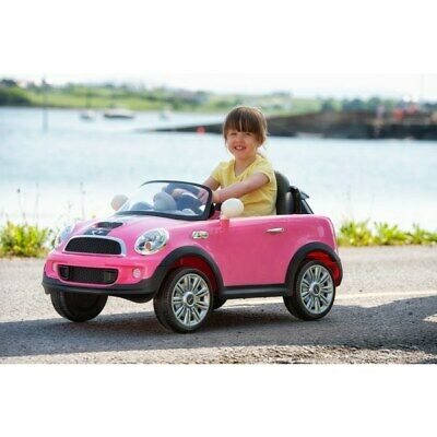 £199.99 • Buy Girls Pink Mini Cooper 6V Electric Ride On Car With Remote Control Outdoor