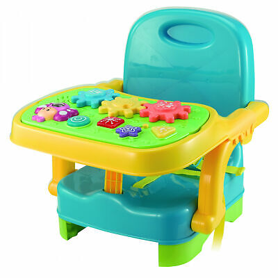 Winfun Musical Baby Booster Seat - Removable Activity Tray - Brand New In Box • 30£