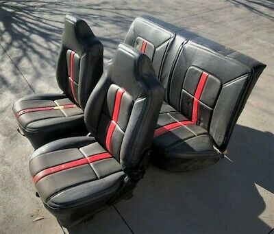 AU1000 • Buy Front And Rear Seats Holden HZ GTS Monaro Sedan | Genuine Holden