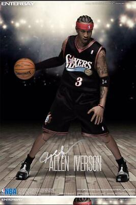 $2668 • Buy Enterbay NBA Philadelphia 76ers Top Scorer Allen Iverson 1/6 Movable Figure