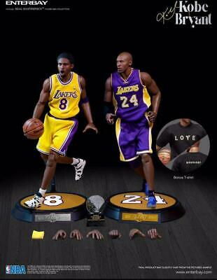 $2668 • Buy Enterbay NBA Lakers Kobe Bryant Real Masterpiece Collectible 1/6 Scale Figure