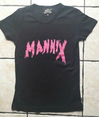£9.99 • Buy Mannix Ladies Tee Size 12 Misery Illicit Clothing Hot Cool Funky Punk Goth