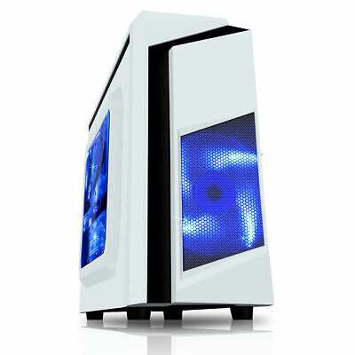 £159.95 • Buy ULTRA FAST I5 2400 @3.10GHz QUAD CORE Computer PC Tower 8GB 250GB HDD Win10 WIFI
