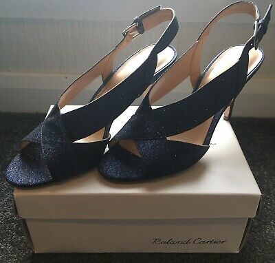 £30 • Buy Navy Roland Cartier Sandals Size 7 Used Once