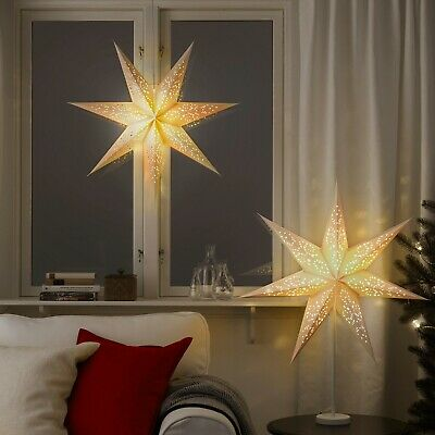 IKEA STRALA Choice Of Christmas Wedding Party Star Light Lampshade, Base Or Cord • 12.99£