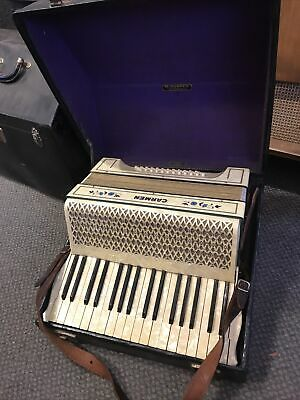 $199.99 • Buy Vintage 1930's-40's M. Hohner Accordion 48 Bass With Original Case Made Germany