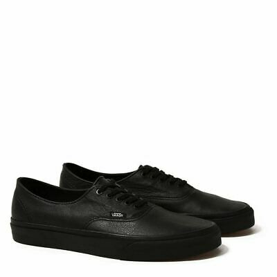 AU59 • Buy Vans Shoes Authentic Leather Black USA SIZE Mens Skateboard Sneakers