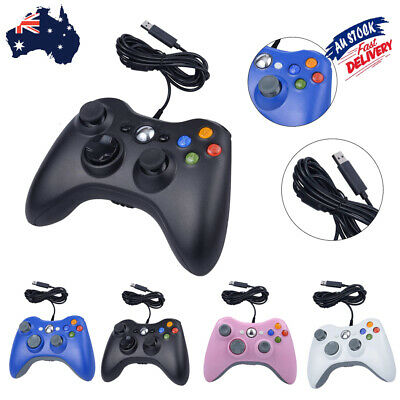 AU24.05 • Buy Wired Games Controller Gamepad Joystick Joypad For Microsoft Xbox 360/PC360 🔥