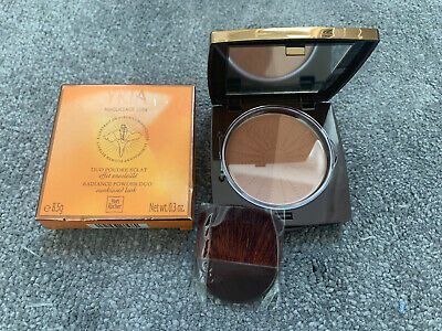 Yves Rocher YRIA RADIANCE POWDER DUO WITH BRUSH! 8.5g BOXED • 11.99£
