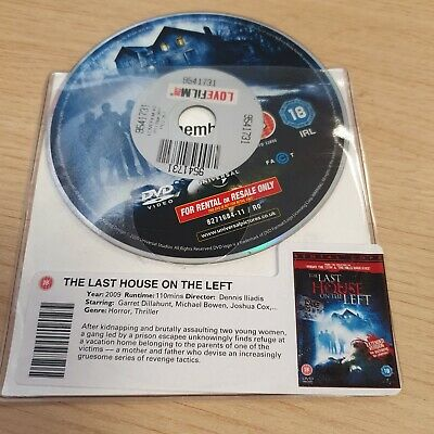 £2 • Buy DISC ONLY - Last House On The Left  DVD