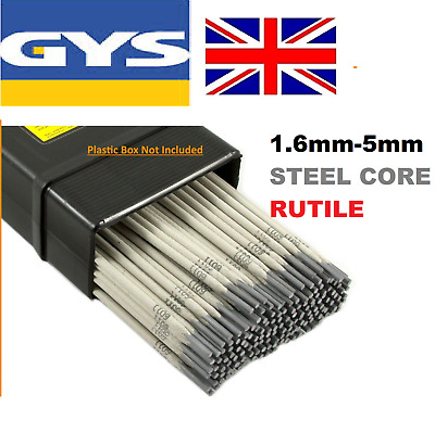Weldright General Purpose E6013 Arc Welding Electrodes Rods 1.6-5.0mm 5-100 Rods • 6.49£