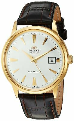 $ CDN141.78 • Buy Orient Men's 2nd Gen. Bambino V.1 Gold Tone & Leather Automatic Watch FAC00003W0