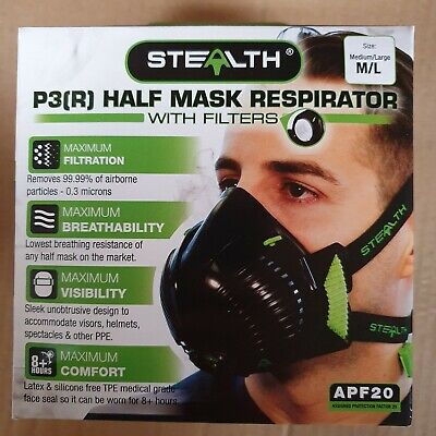 Stealth Mask P3 M/L NEW • 25£