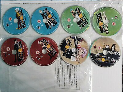 *Disc's Only* Soul Eater - The Complete Series - DVD - Anime • 10.99£