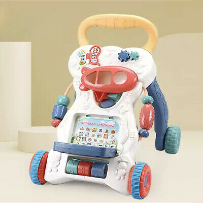 £19.79 • Buy 2in1 Baby Walker First Steps Activity Bouncer Musical Toys Car Along Ride  On Go