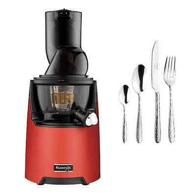 Kuvings EVO820 Evolution Cold Press Juicer Red With FREE Gift • 479£