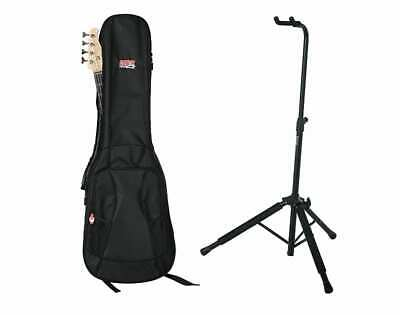 $ CDN106.75 • Buy Gator Cases 4G Series Bass Guitar Gig Bag And Hanging Stand Bundle