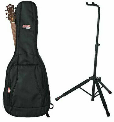$ CDN110.77 • Buy Gator Cases 4G Series Acoustic Guitar Gig Bag And Hanging Stand Bundle
