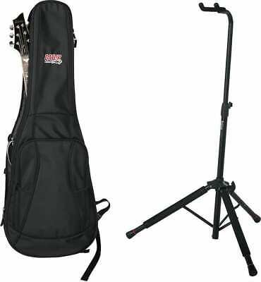 $ CDN95.83 • Buy Gator Cases 4G Series Electric Guitar Gig Bag And Hanging Stand Bundle