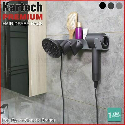 AU41.90 • Buy Kartech Dyson Hair Dryer Rack Supersonic Stand Wall Magnetic Hold Mount Bracket