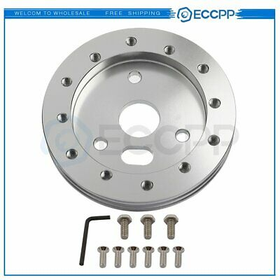 $10.99 • Buy 0.5  Steering Wheel Hub Adapter Spacer 6 Hole Fit For Grant APC 3 Hole New