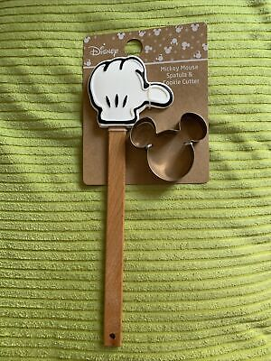 Disney Mickey Mouse Spatula & Cookie Cutter By Primark Bnwt • 7.99£