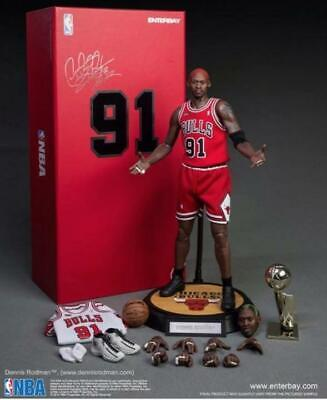 $1478 • Buy Enterbay NBA Collection Chicago Bulls Dennis Rodman Worm 1/6 Scale Figure 33 Cm