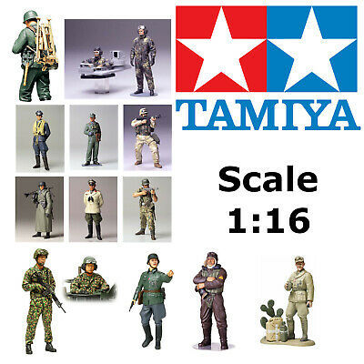 Tamiya 1:16 Figures Military Personnel Japanese WWII German Gunner Soldier Pilot • 14.85£