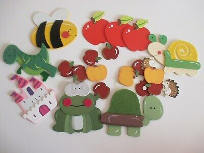 Wooden Die Cut Shapes For Crafting • 5£