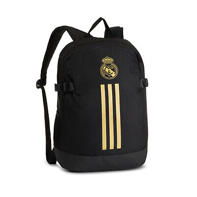 £39.87 • Buy New Adidas Originals REAL MADRID Classic Black Backpack Gym School Books DY7716
