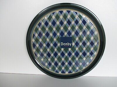 Denby Pottery Metz Round Platter New First Quality Excellent Condition  • 45£