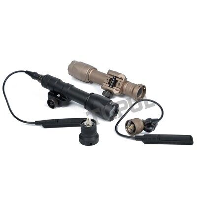 $38.68 • Buy Tactical M600C Weapon Scout Light LED Constant Momentary Torch For Rifle Airsoft