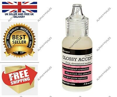 £9.96 • Buy Ranger Mini Glossy Accents Clear UK Stock FAST&FREE