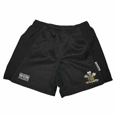£14.95 • Buy EGGCATCHER Wales Performance Training Rugby Shorts [black]