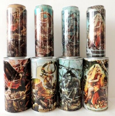 $ CDN54.40 • Buy EMPTY CANS! FAXE Beer Norse Gods Part 1-4 Cans 8 Pcs 45-90 Cl  Bottom Open
