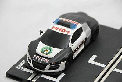 £39.99 • Buy Scalextric Digital Car - From Set - Audi R8 - Police Car - Working Lights And Si