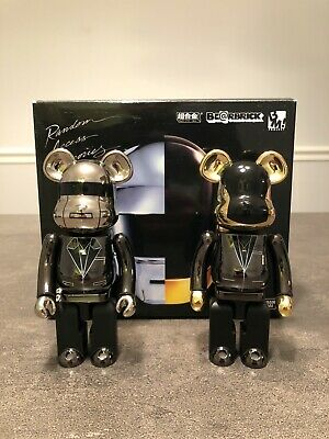 $393.55 • Buy Bearbrick  Daft Punk , Set Of 2 , 200% , Medicom , Be@arbrick , Chogokin