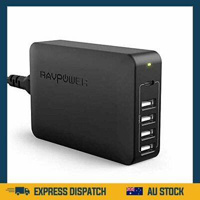 AU66.99 • Buy USB C Pd Charger, 60W 5-Port USB Desktop Charging Station With 45W Power Deliver