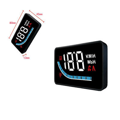 $29.60 • Buy HUD Head Up Display OBD2 Overspeed Warn Windshield Projector Fit For Car Truck