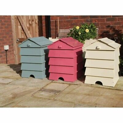 """BEEHIVE"" SHAPE GARDEN COMPOST BIN Made To Order • 120£"